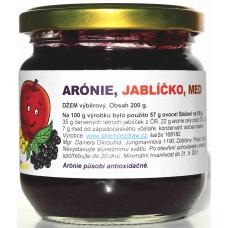 Arónie s jablkem a medem, džem, 200g