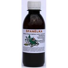 9Bylinný sirup Španělka na dýchací cesty - 200 ml dle Božena Kamenická
